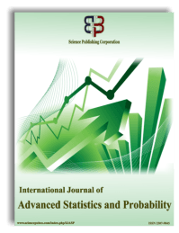 International Journal of Advanced Statistics and Probability